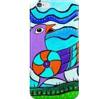 Retro Birds iPhone Case/Skin