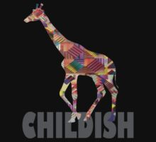 CHILDISH GIRAFFE GRAY by Chasingbart