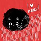 I heart Meow! by Emma Hampton