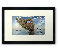 Piece of Coral Framed Print