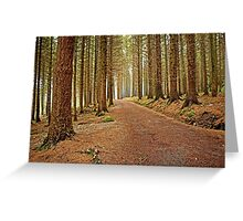 Mourne Mountains Forest Greeting Card