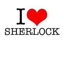 I love Sherlock by Crumpettt