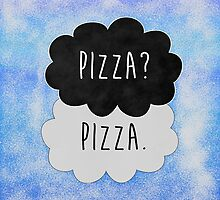 Pizza? Pizza. by strangebird2014
