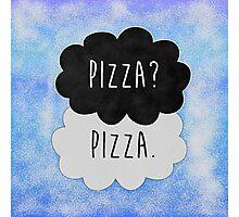Pizza? Pizza. Photographic Print