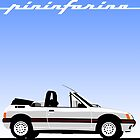 Peugeot 205 by Pininfarina by car2oonz