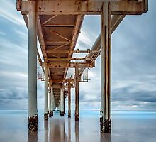 Under the Boardwalk - Fingal NSW Australia by Beth  Wode
