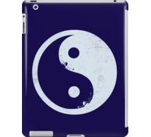 yin yang surfer 2 iPad Case/Skin