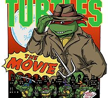 Ninja Turtles Retro First Movie 1990 Raphael by Arseniy Dubakov
