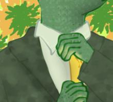 Business gecko Sticker