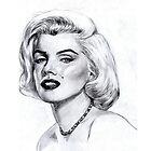 Marilyn Monroe by JavierMontero