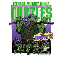 Ninja Turtles Retro First Movie 1990 Donatello Photographic Print