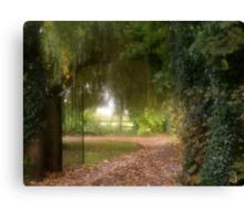 Pathway Home Canvas Print