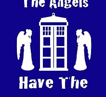 The Angels Have The Phonebox by Ben Swinscoe