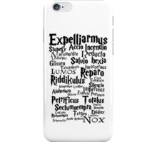 Spells iPhone Case/Skin