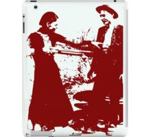 BONNIE AND CLYDE iPad Case/Skin