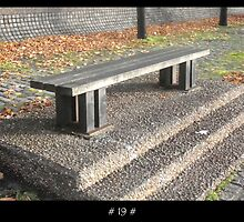 The 1000 Benches Project  - # 19 # by Roberto Alamino
