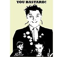 Rik Mayall - YOU B*STARD! Photographic Print
