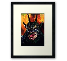 Curse of the Demon Framed Print