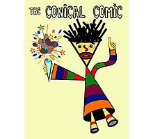 The Conical Comic Photographic Print