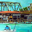 Last of the Carolina Swing Bridges by Jim Phillips
