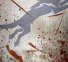 Stark Shield - Battle Damaged Sticker