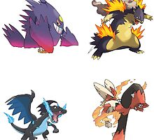 Pokemon - Best Mega Evolutions by SamSaab