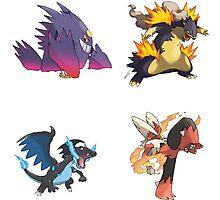 Pokemon - Best Mega Evolutions Photographic Print