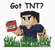 Minecraft Shirt - Got TNT - creepGEAR.com Kids Clothes