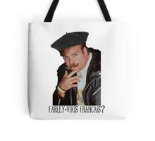 Farley-Vous Francais? Tote Bag