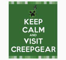 Keep Calm At creepGEAR.com by minecraft-shirt