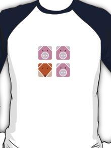 3 little pigs square T-Shirt
