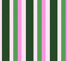 Pink Roses in Anzures 1 Stripes 4V by Christopher Johnson
