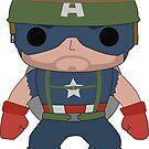 Vietnam Captain america by nick94