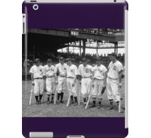 Seven of the American League's 1937 All-Star players iPad Case/Skin
