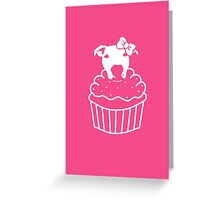 Lita PupCake Greeting Card