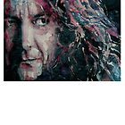 Robert Plant Tee Shirt  by LoveringArts