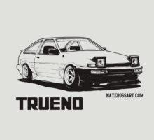 AE86 Trueno Illustration by WhyTee1300