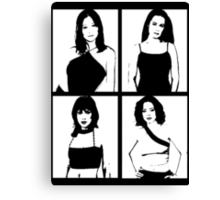 The Charmed Ones Canvas Print