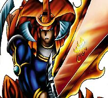 flame swordsman yugioh by diggydude