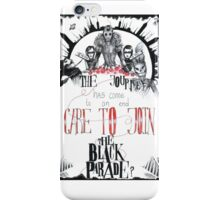 The Black Parade Is Dead! iPhone Case/Skin
