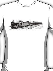 Vintage European Train A9 T-Shirt