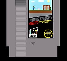Minecraft NES Cartridge by funkeyman5