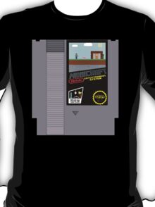 Minecraft NES Cartridge T-Shirt