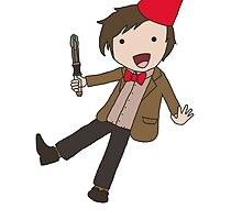 Cartoon 11th Doctor  by thatgirlshannon