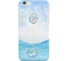 Surreal Fish And Bird Painting iPhone Case/Skin