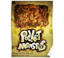 CAPSULE MONSTERS / POCKET MONSTERS POSTER Poster