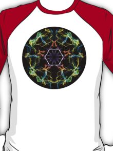 Psychedelic Multi-Colored Electric Circle T-Shirt