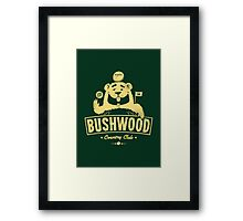Bushwood (Light) Framed Print