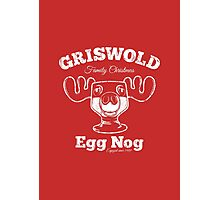 Griswold Christmas Egg Nog Photographic Print
