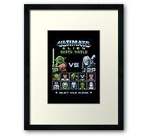 Ultimate Alien Death Match Framed Print